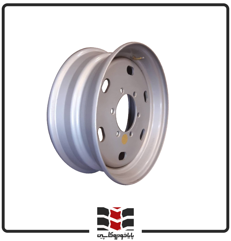 رینگ فولادی نیسان 17.5*6 - 6 پیچ - 17