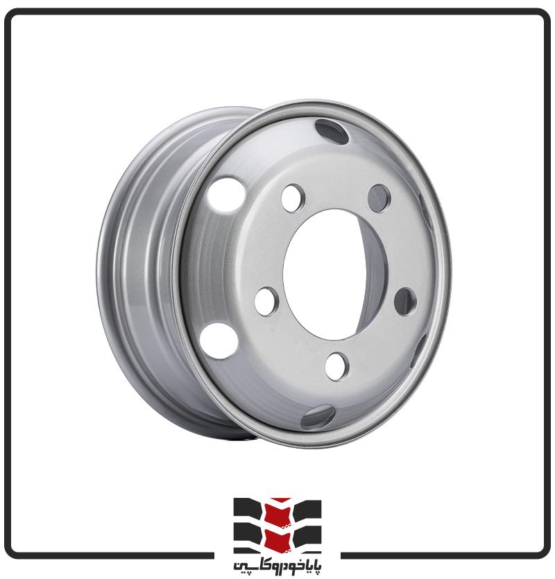 رینگ فولادی ایسوزو 3 تن 17.5*6 - 5 پیچ - 29