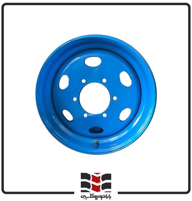 رینگ فولادی نیسان 17.5*6 - 6 پیچ - 17 - آبی رنگ